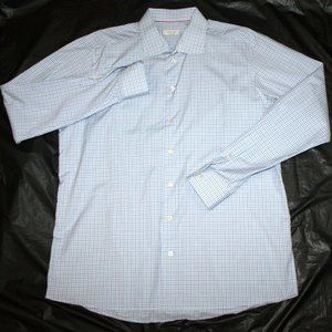 ETON Contemporary Fit Long Sleeve Button Shirt